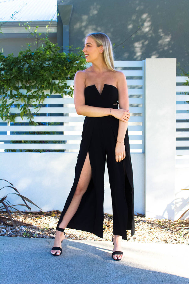 Jumpsuit - Hypnotised Jumpsuit In Black