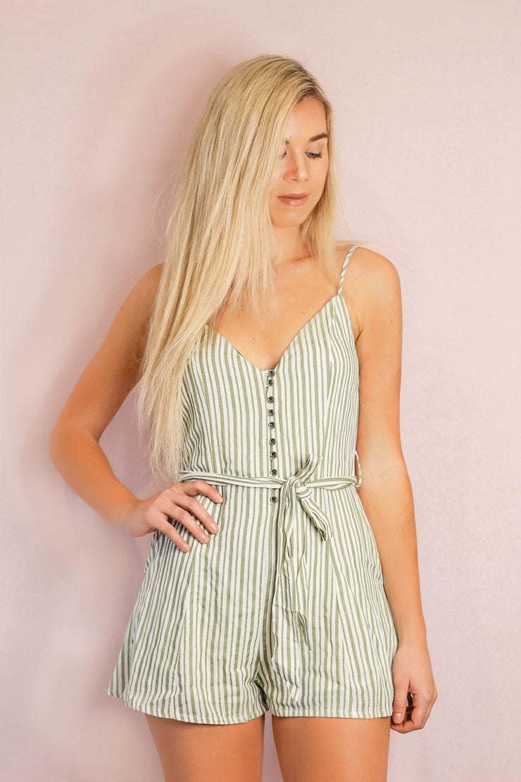 Playsuit - Still Unwritten Playsuit In Green