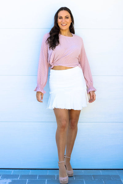 Skirt - Change Your Life Skirt In White