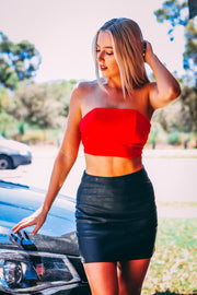 Top - Mabelle Top In Red