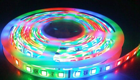 5m led strip set littleplayland easy to install and cut the multi color changing led strip lights can be cut every 3 leds along the cutting marks without damaging the rest strips aloadofball Gallery