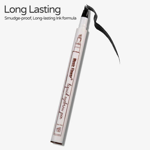 The waterproof microblading pen fork tip eyebrow tattoo for Eyebrow tattoo pen