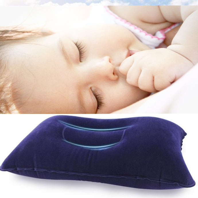 Portable Folding Air Inflatable Pillow