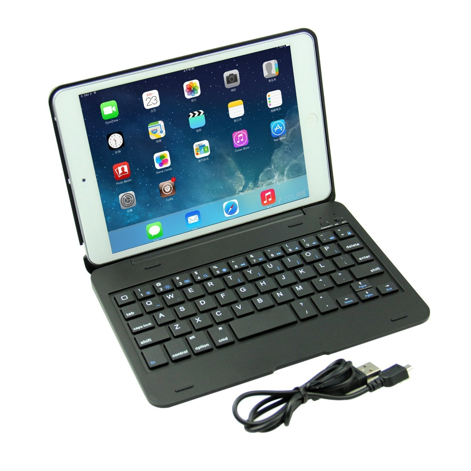 PadBook Wireless Keyboard ( iPad mini 1 2 3)