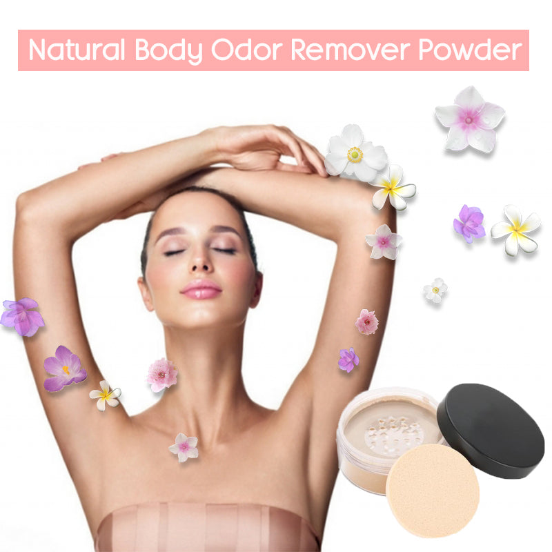 Natural Body Odor Remover Powder