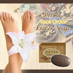Herbal Foot Odor Rescuer Soap