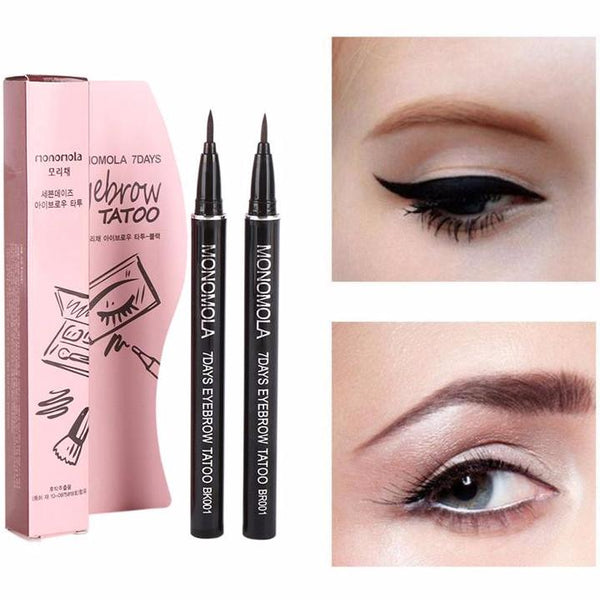 Korean 7 Days Waterproof Eyebrow Tattoo Pen Littleplayland