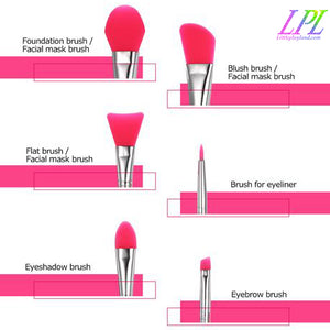 Silicone Makeup Brush Set