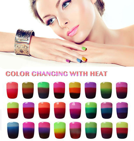 Magic Color Changing Nail Polish