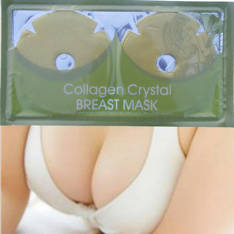 Gold Collagen Breast Masks ( 1 Pair )