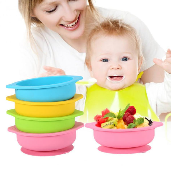 Baby Silicone Suction Bowl