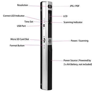 iScan Mini Portable Scanner