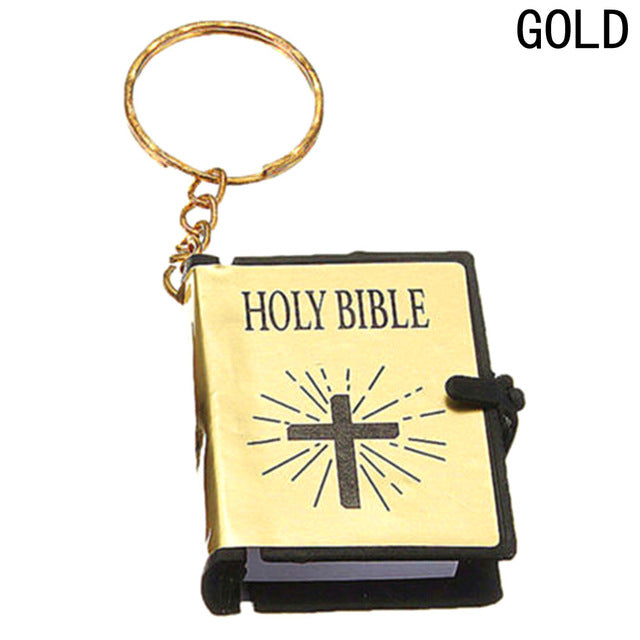 Bible Keychain - Bible in Basic