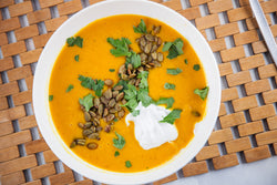 Good Chef Bad Chef - Carrot, Ginger & Lentil Soup with Tefal ClipsoMinut' Perfect