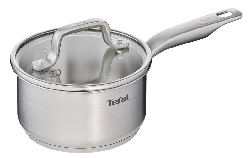 Tefal Virtuoso Stainless Steel Induction Saucepan 16cm/1.6L + lid