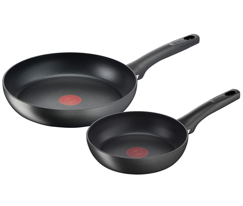 Tefal Ultimate Non-Stick Induction Twinpack Frypan 20/26cm