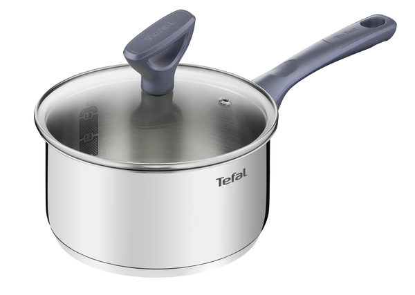 Tefal Daily Cook Stainless Steel Induction Saucepan 18cm/2.1L + lid