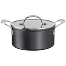 Jamie Oliver by Tefal Cooks Classic Non-Stick Induction Hard Anodised Stewpot with lid 24cm/5L