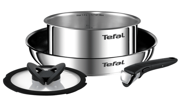 Tefal Ingenio Emotion Stainless Steel Induction 4-piece Mixed Set