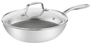 Tefal Eternal Mesh Stainless Steel Induction Wokpan 28cm
