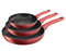 Tefal Character Non-Stick Induction Triple Pack Frying Pans Set - 21/24/28cm