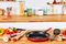 Tefal Daily Chef Red Non-stick Induction Frypan 28cm