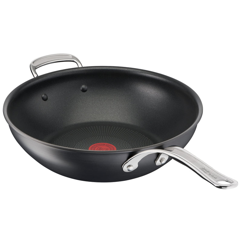 Jamie Oliver by Tefal Cooks Classic Non-Stick Induction Hard Anodised Wokpan 30cm