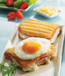 Snack Collection Accessory Plates - Croque Monsieur/Toasted Sandwich XA8001
