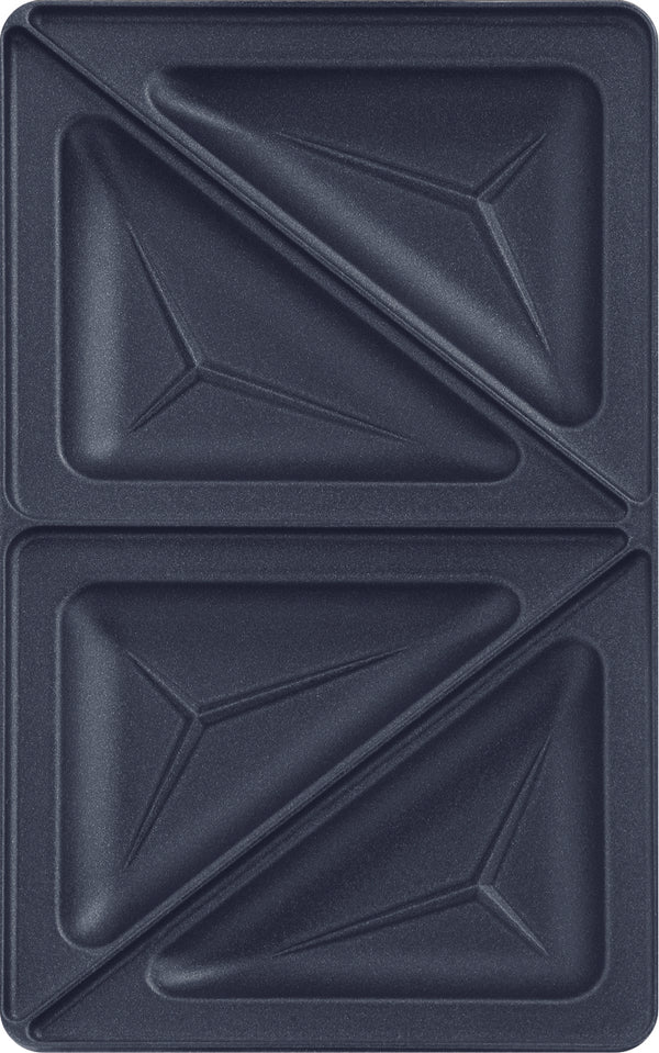 Snack Collection Accessory Plates - Club Sandwich/Triangle XA8002