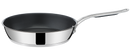 Jamie Oliver by Tefal Cooks Classic Stainless Steel Non-stick Induction Frypan 24cm