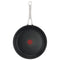 Jamie Oliver by Tefal Cooks Classic Non-Stick Induction Hard Anodised Twinpack Frypan 24/28cm