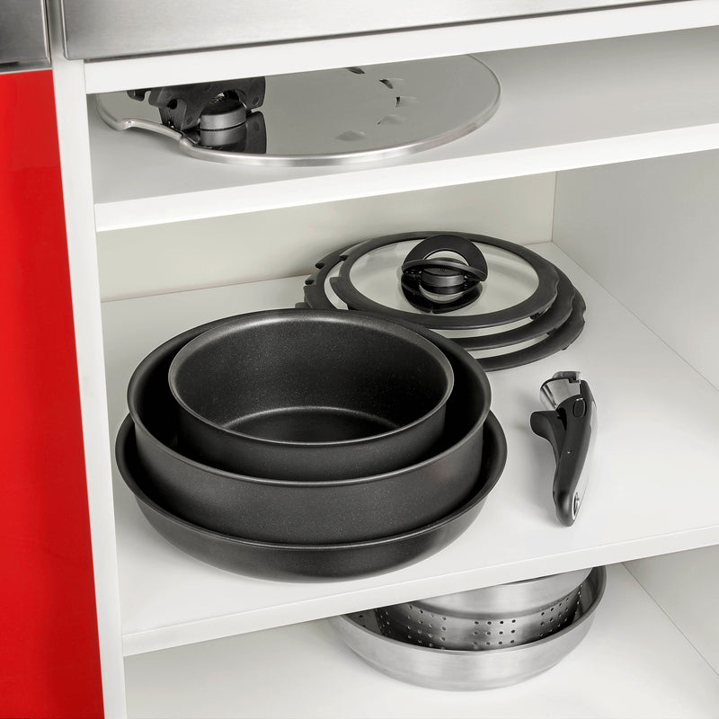 Tefal Ingenio Performance Non-Stick Induction 8-Piece Cookware Set