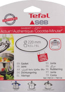 Tefal Pressure Cooker Accessory - Silicone/Seal - 790141