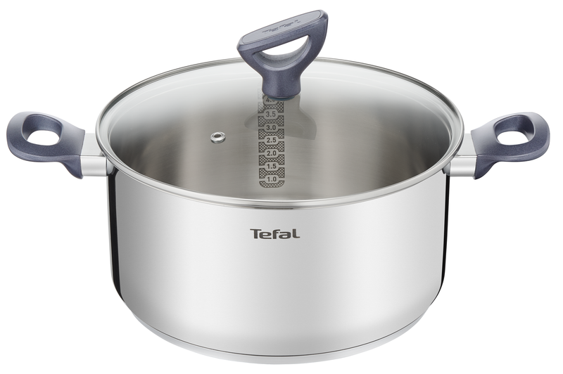 Tefal Daily Cook Stainless Steel Induction 4pc Set + Utensils