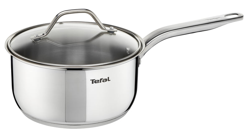 Tefal Intuition Stainless Steel Induction Saucepan with lid 18cm - A7022385