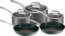 Tefal Gourmet Anodised Induction 5 Piece Set
