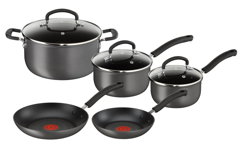 Tefal Inspire Hard Anodised 5 Piece Set