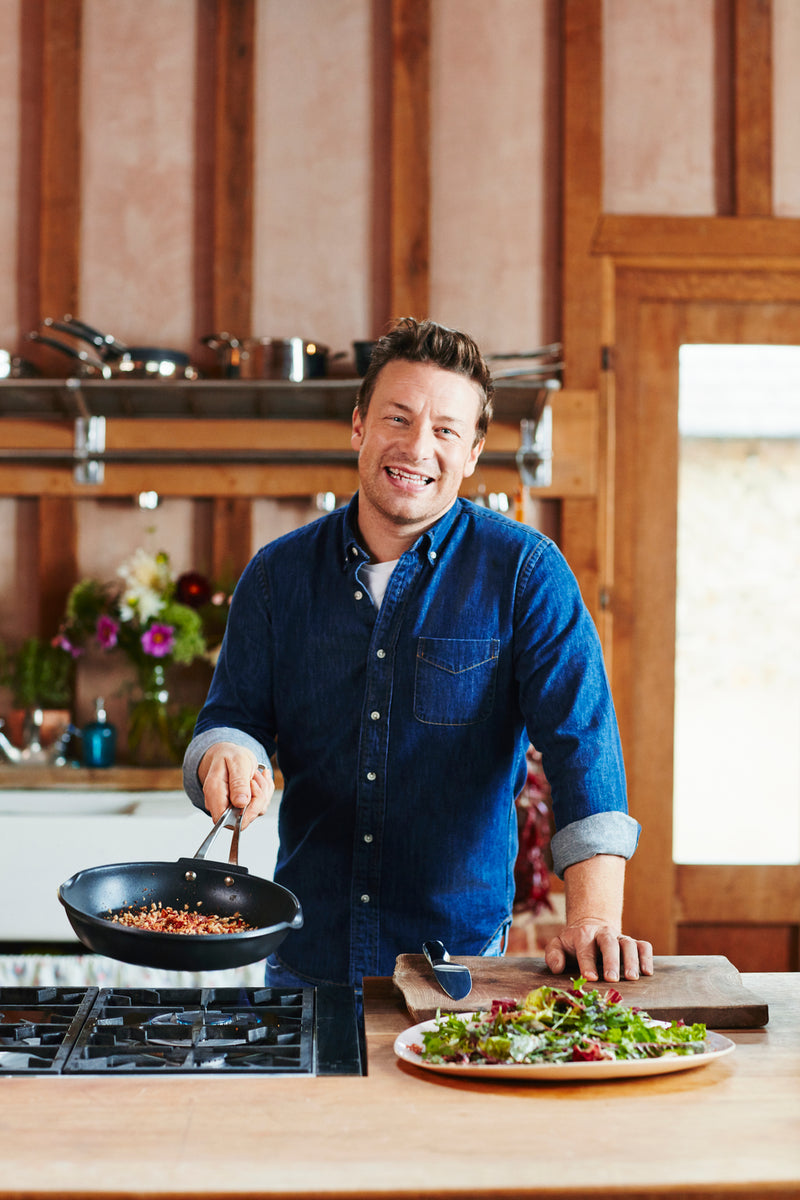 Jamie Oliver by Tefal Cast Aluminum Induction Frying Pan 28cm
