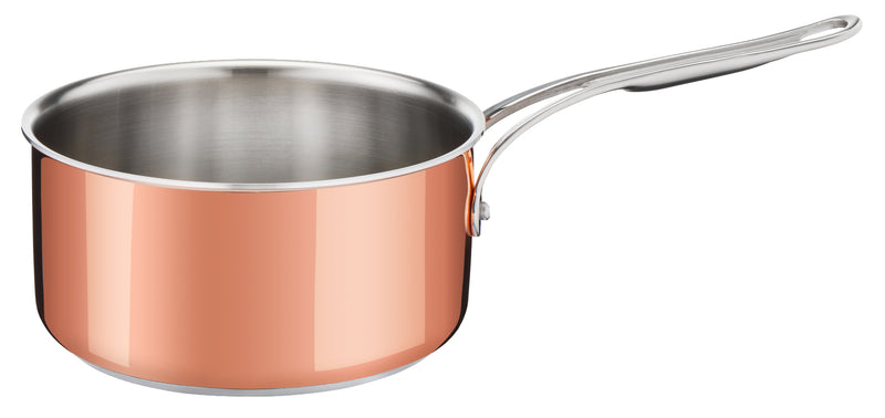 Jamie Oliver by Tefal Premium Triply Copper Induction Saucepan 16cm + Lid