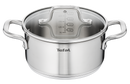Tefal Virtuoso Stainless Steel Induction Stewpot with Lid 24cm/5.4L