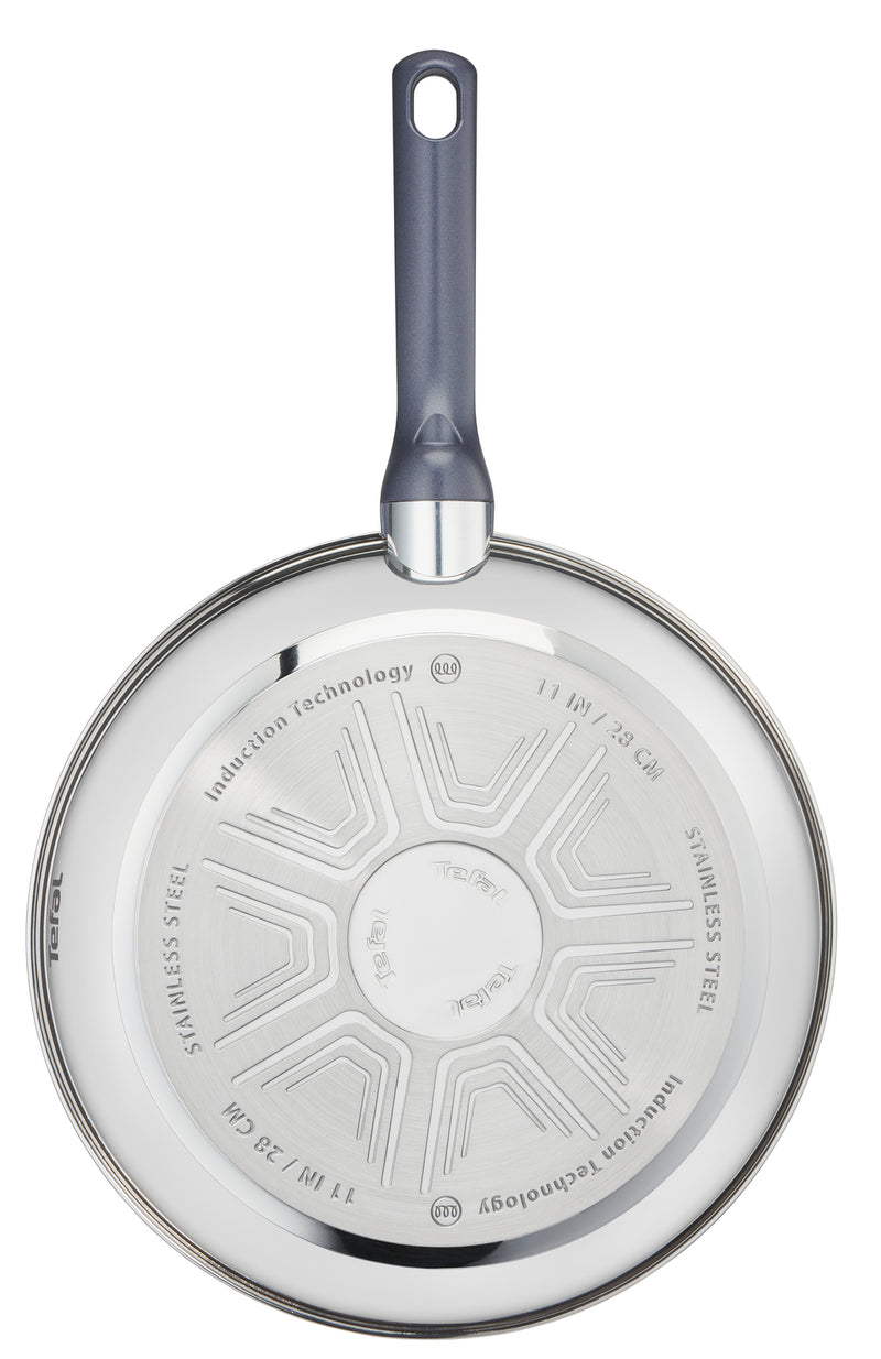 Tefal Daily Cook Stainless Steel Induction Frying Pan 24cm
