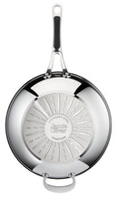 Jamie Oliver by Tefal Premium Stainless Steel Induction Wok Pan 30cm