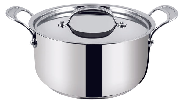 Jamie Oliver by Tefal Premium Stainless Steel Induction Stewpot 24cm