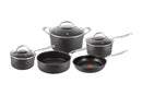 Jamie Oliver  Premium Hard Anodised Induction 5 Piece Set – w/ Sautepan
