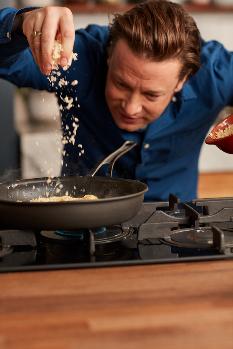 Jamie Oliver Premium Hard Anodised Induction Frypan 30cm