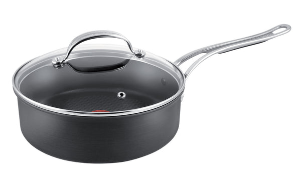 Jamie Oliver Premium Hard Anodised Induction Saute Pan 26cm