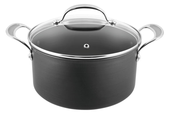 Jamie Oliver Premium Hard Anodised Induction Stewpot 24cm