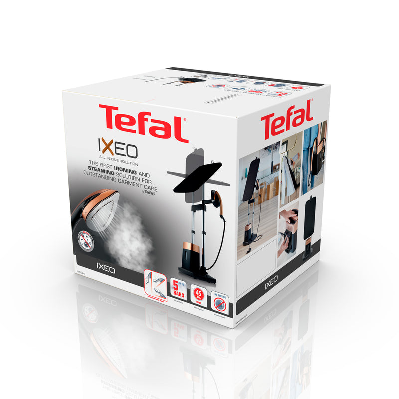 Tefal Ixeo All In One Iron & Garment Steamer Solution - QT1020