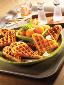 Snack Collection Accessory Plates - Heart Waffles XA8006