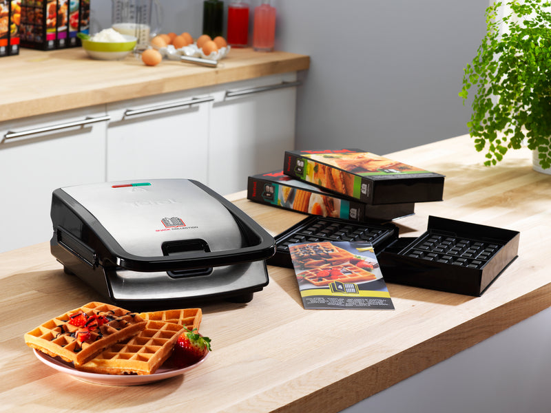 Tefal Snack Collection SW852 Sandwich and Waffle Maker